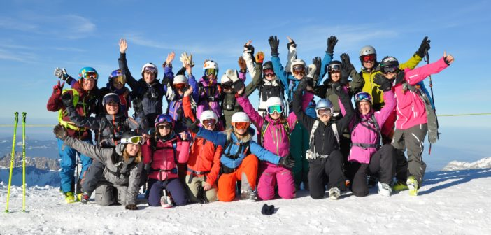 "Girls Freeride Camp mit ""Shades of Winter""-Stars in Engelberg"
